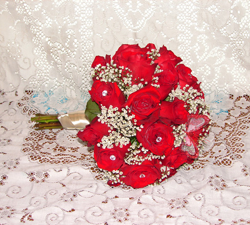 Barb's Red Bouquet