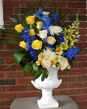 Karen and Charles Church Arrangement