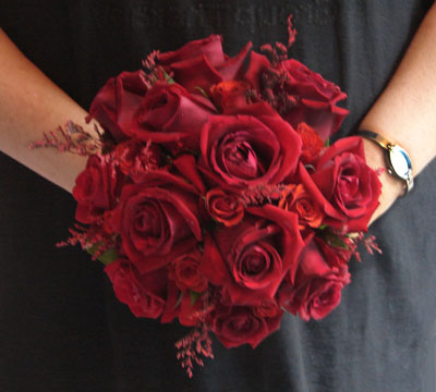 Round Rose Bouquet