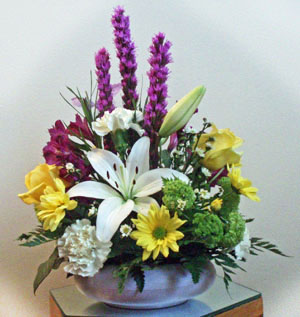 Colourful arrangement
